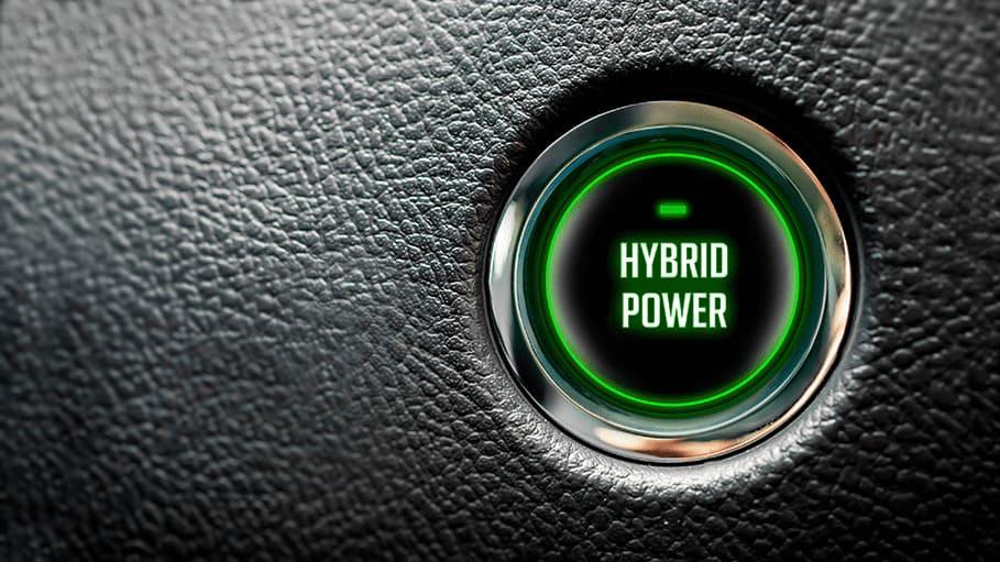 hybrid power knop in auto