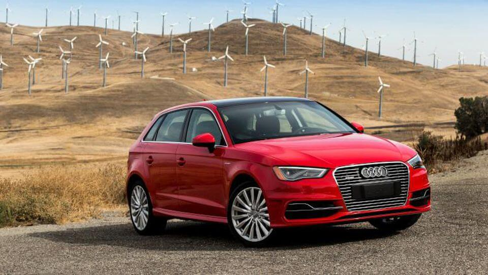 Audi e-tron opladen