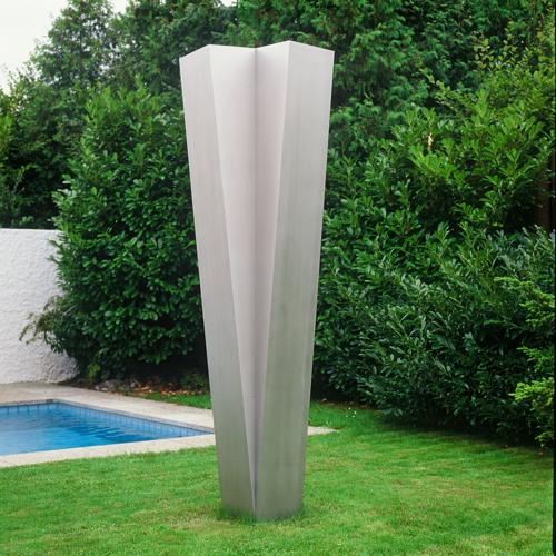 Skulptur Chrom-Nickel-Stahl, Privatammlung, Zürich