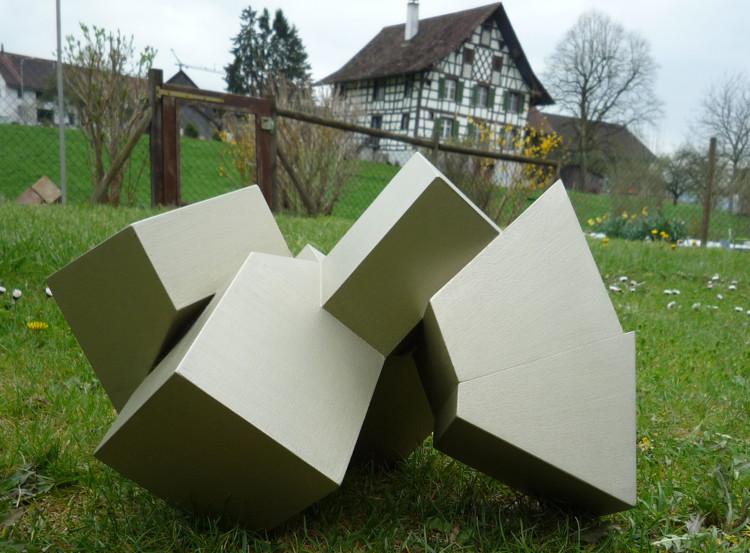Skulptur X7, Wigoltingen 2010