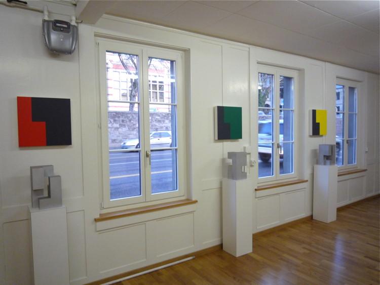 Seilergraben, Zürich, Bild und Skulpturen 2005