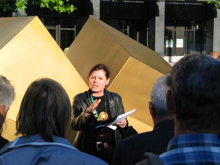 Rede von Dorothea Strauss vom Haus konstruktiv