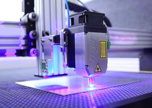Laser auf Blech
