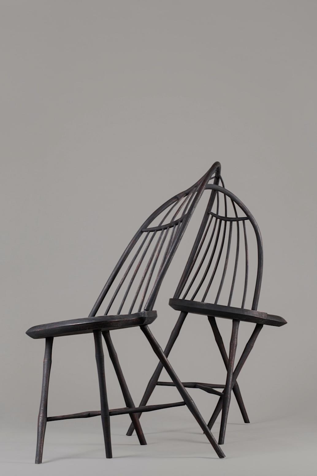 A Typical Windsor Form, 2004, by artist Christopher Kurtz.