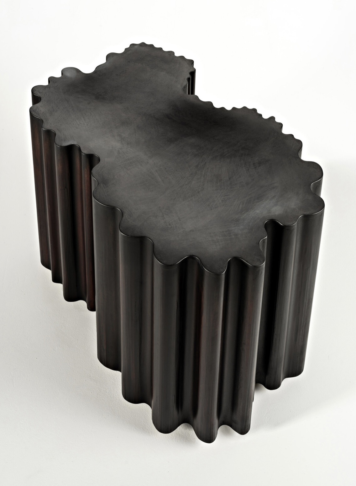 Black Hole Bench 60219, 2019, by Artist Christopher Kurtz.