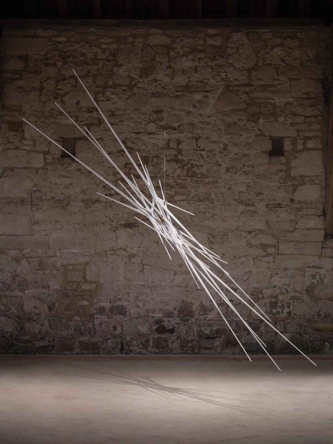 Artist Christopher Kurtz created this sculpture titled Wiltshire Meridian 40919, 2019.