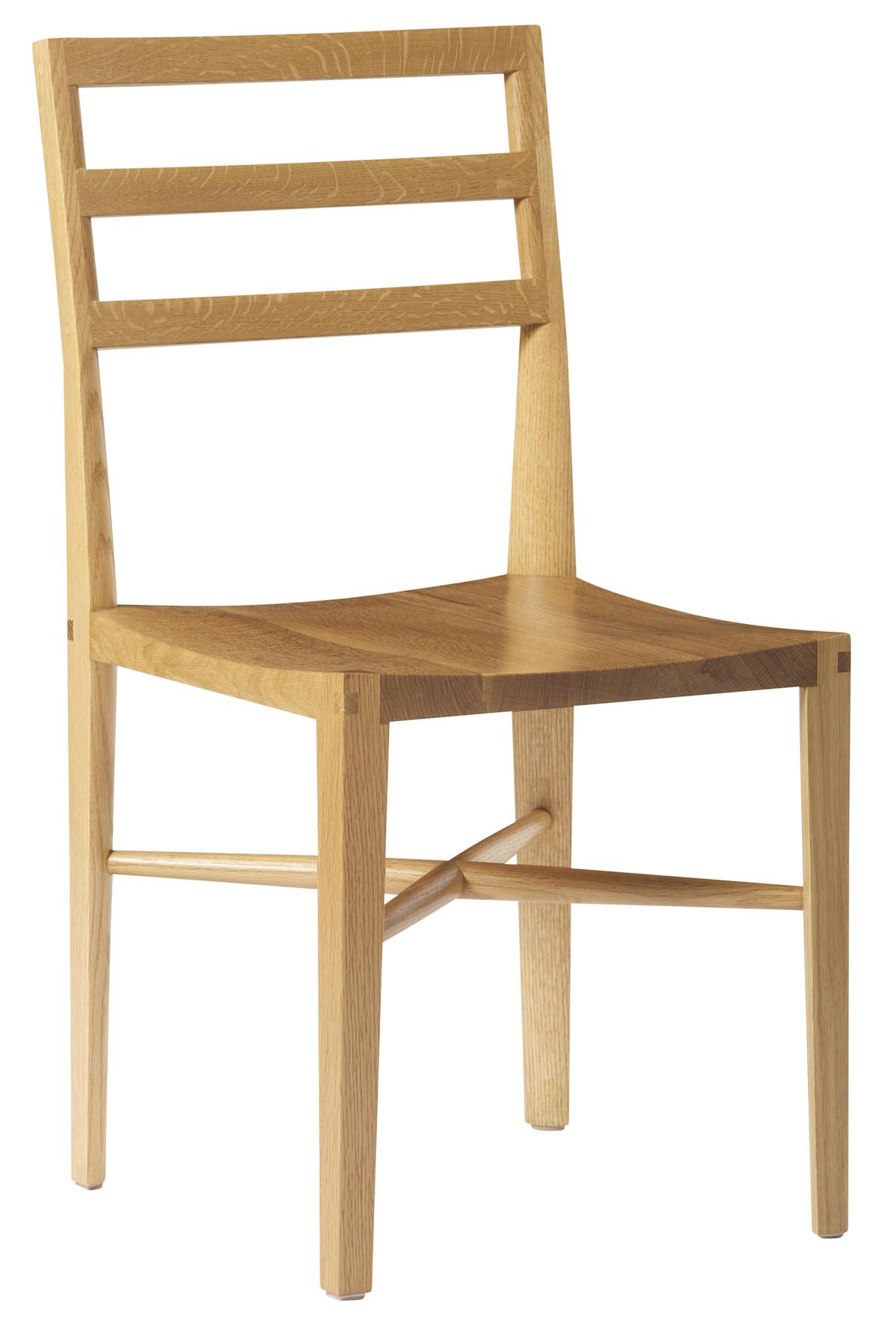 Quarter Round Ladderback Chair by artist Christopher Kurtz