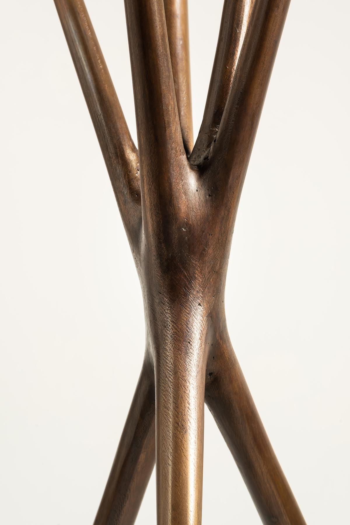 detail of Untitled (Standing Sculpture) by Christopher Kurtz