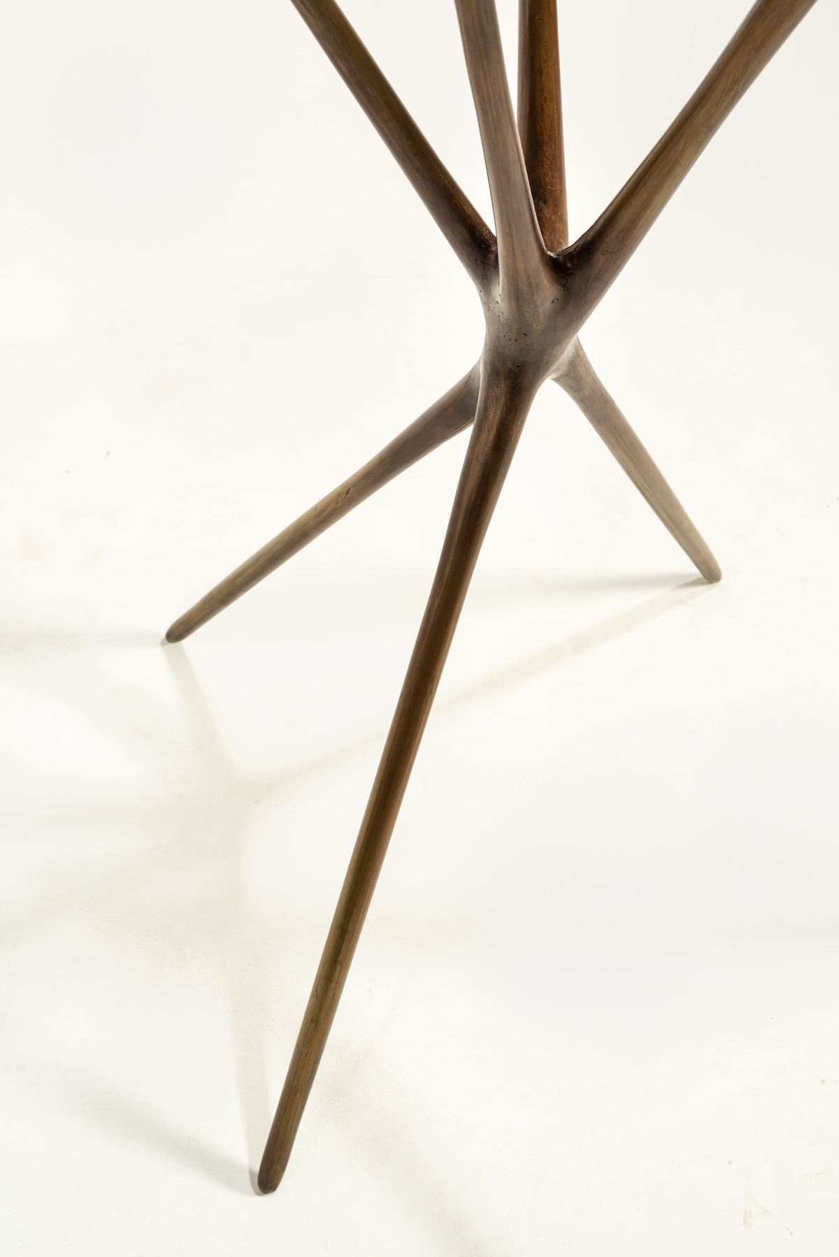 point detail of Untitled (Standing Sculpture) by Christopher Kurtz