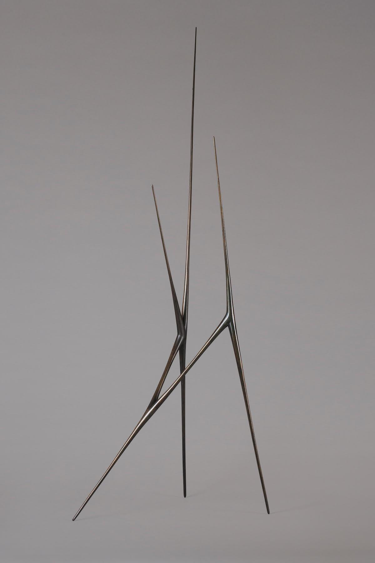 Bronze Allonge, a sculpture by artist Christopher Kurtz