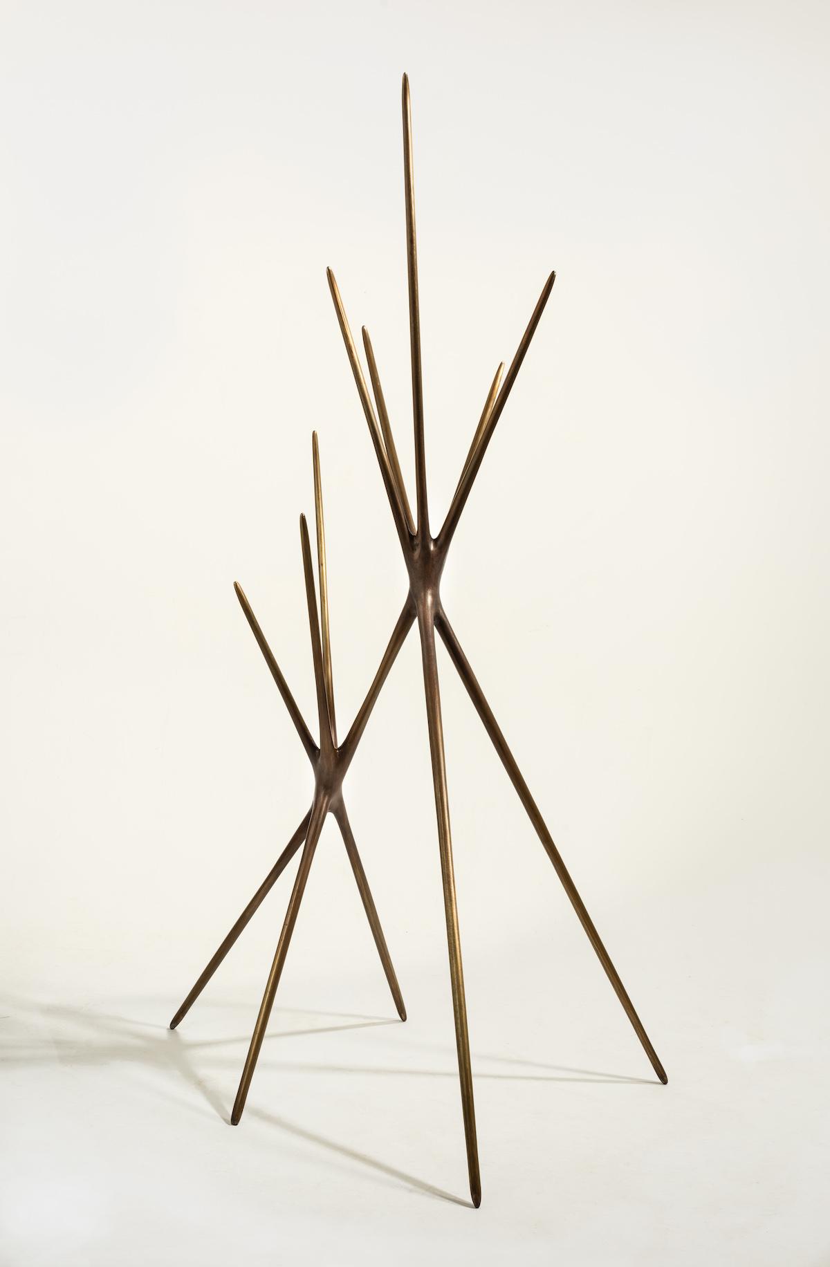 Untitled (Standing Sculpture) by Christopher Kurtz