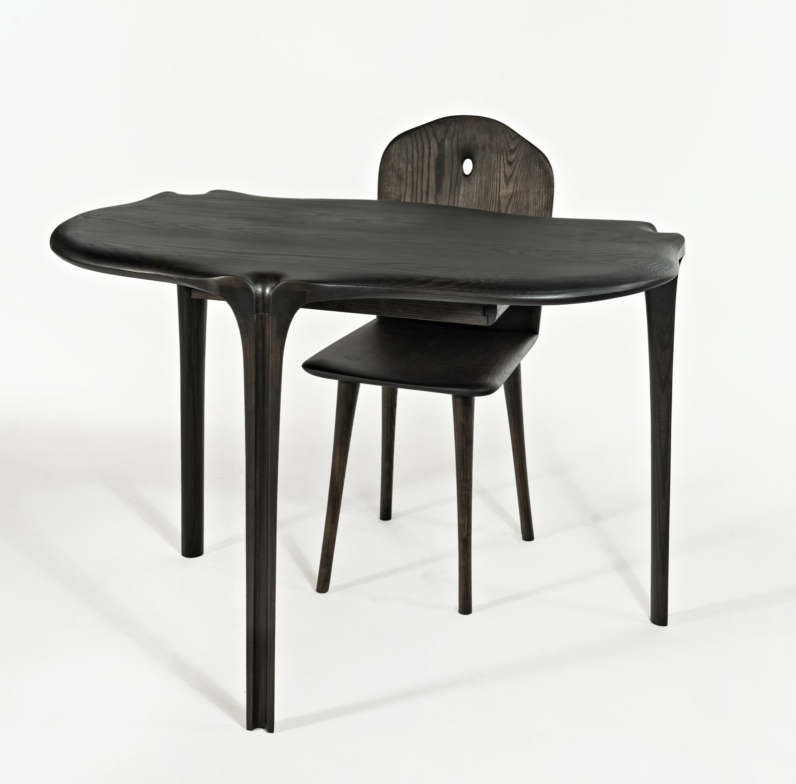 Writing Desk and Conrad Chair by artist Christopher Kurtz