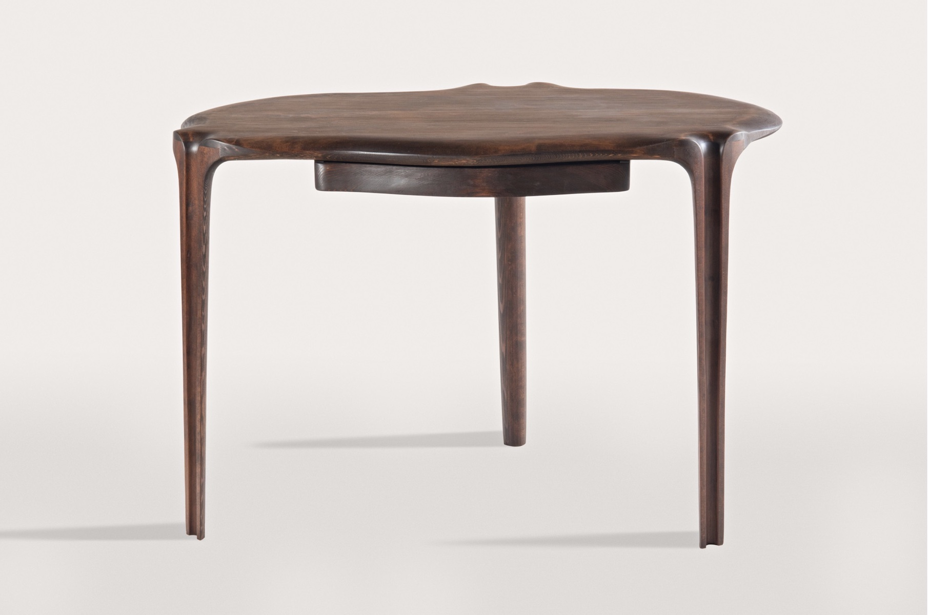 back view of the Writing Desk by artist Christopher Kurtz