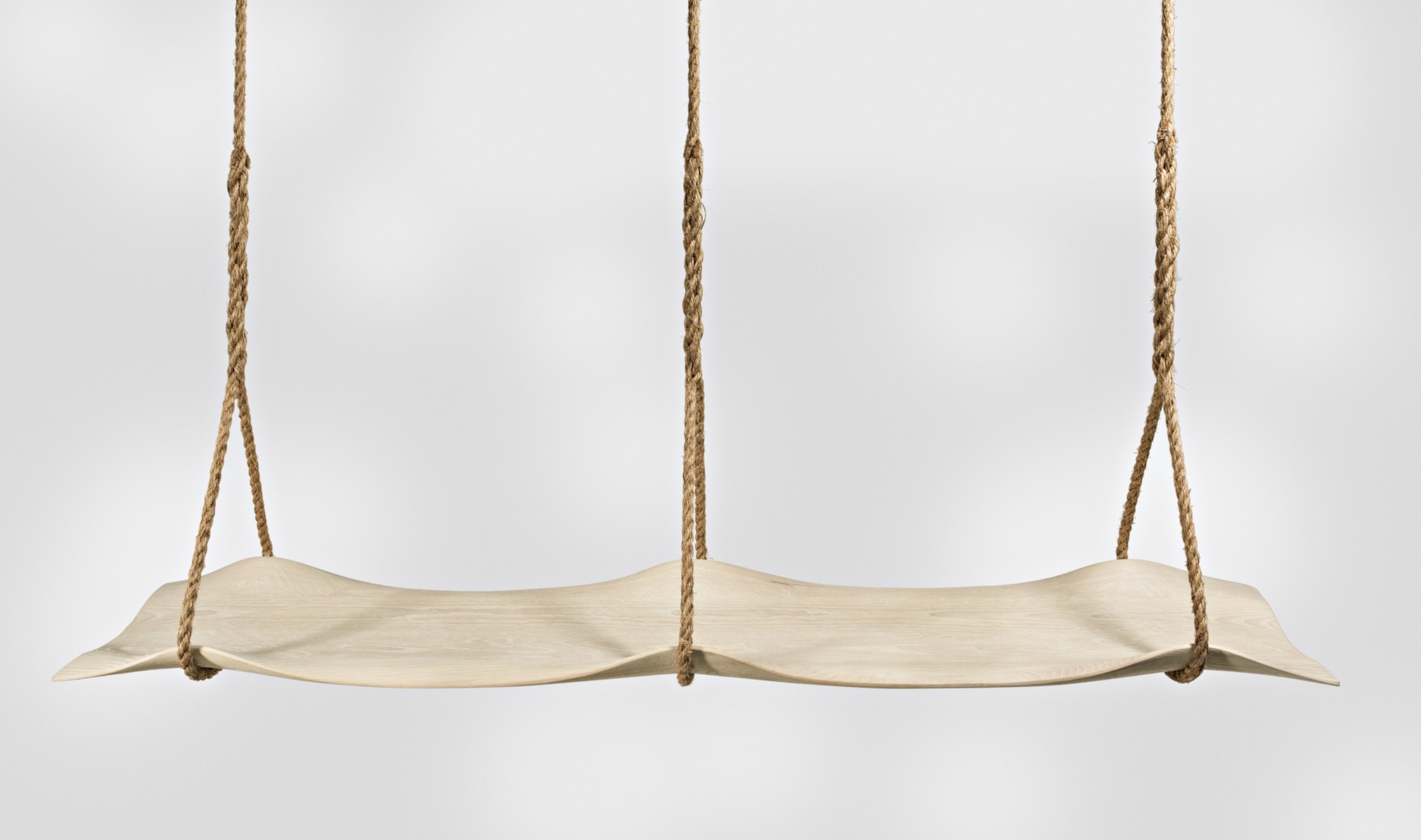 double Swing Seat by artist Christopher Kurtz