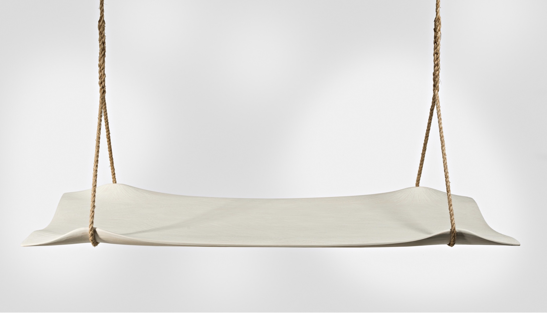 front view of the Swing Seat by artist Christopher Kurtz