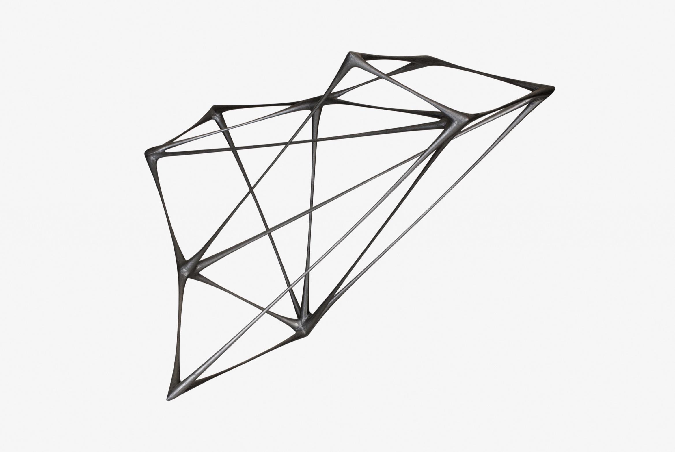 Black Kite, a metal sculpture by artist Christopher Kurtz