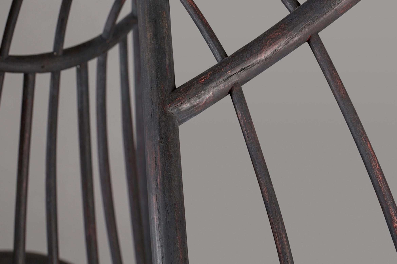 detail of A Typical Windsor Form, 2004, by artist Christopher Kurtz.