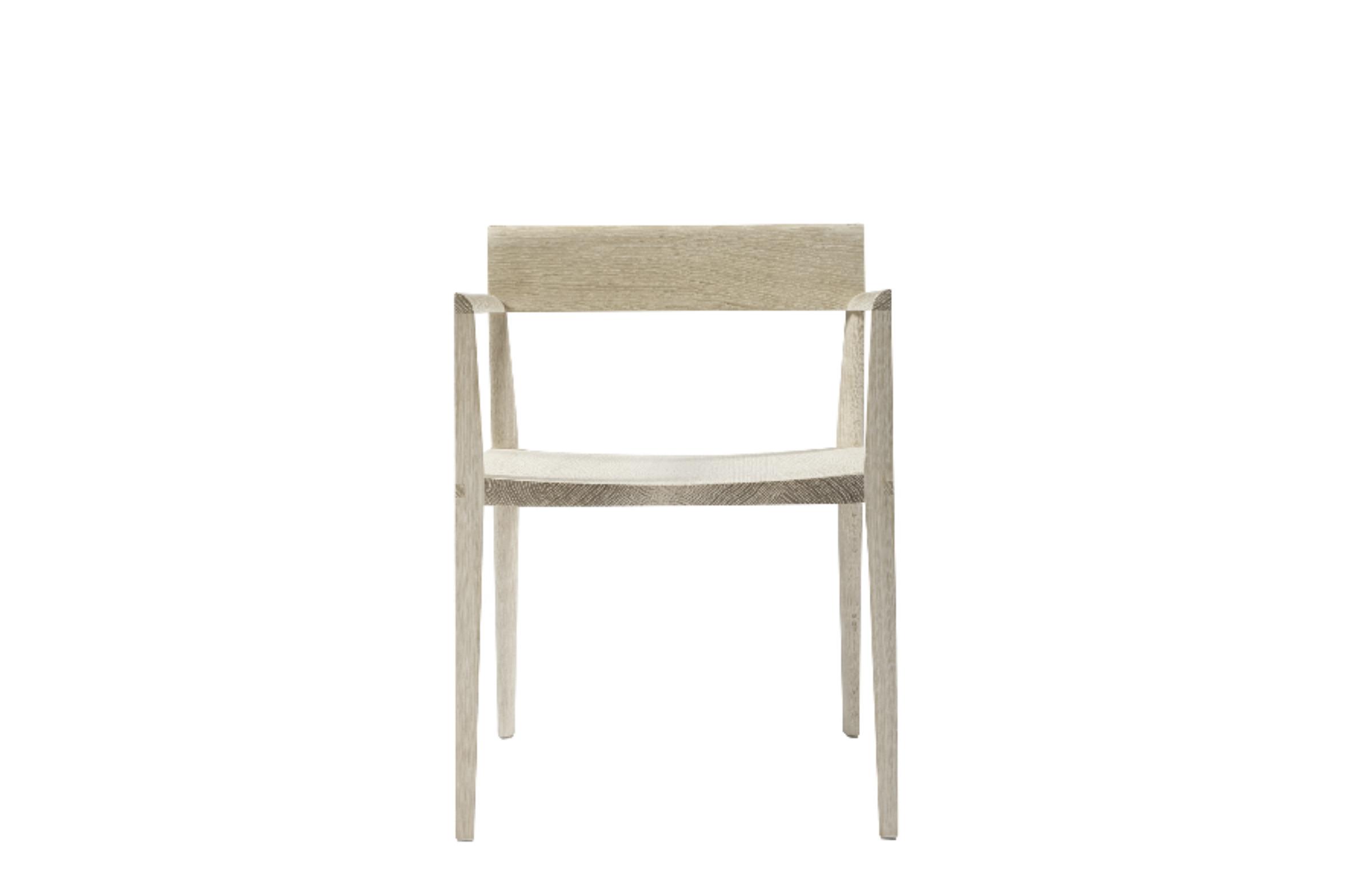 Quarter Round Arm Chair by artist Christopher Kurtz