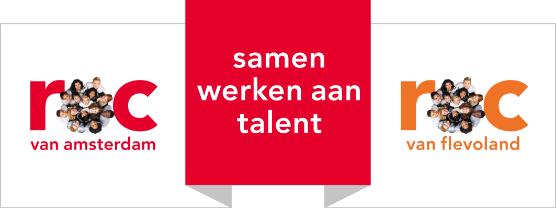 ROC amsterdam flevoland logo