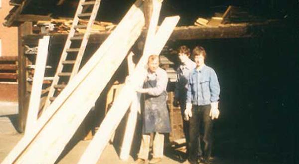 Handwerksqualität: Holz für die Tischlerei Dickmänken