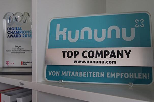 Auszeichnung von kununu