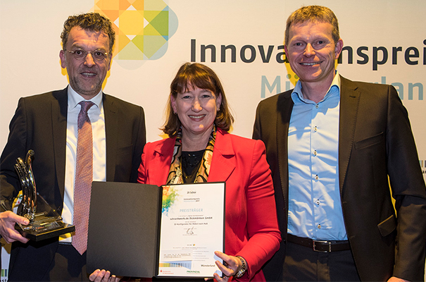 Schrankwerk erhält den Innovationspreis Münsterland