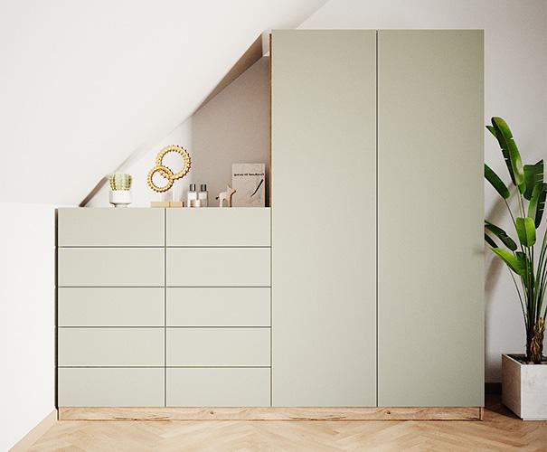 Möbel Dekore für den individuellen Schrank