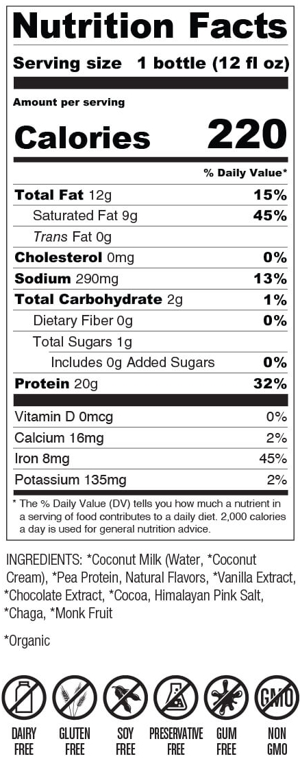 Cookies and Cream Nutrition Facts