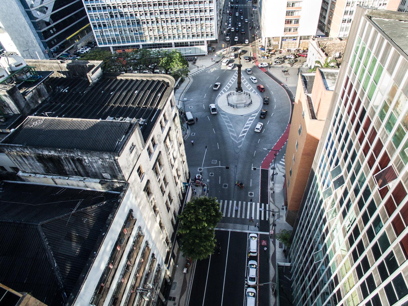 Imagem da cidade do alto