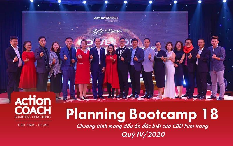"Planning Bootcamp 18 ""START A NEW JOURNEY – BÌNH THƯỜNG MỚI"""