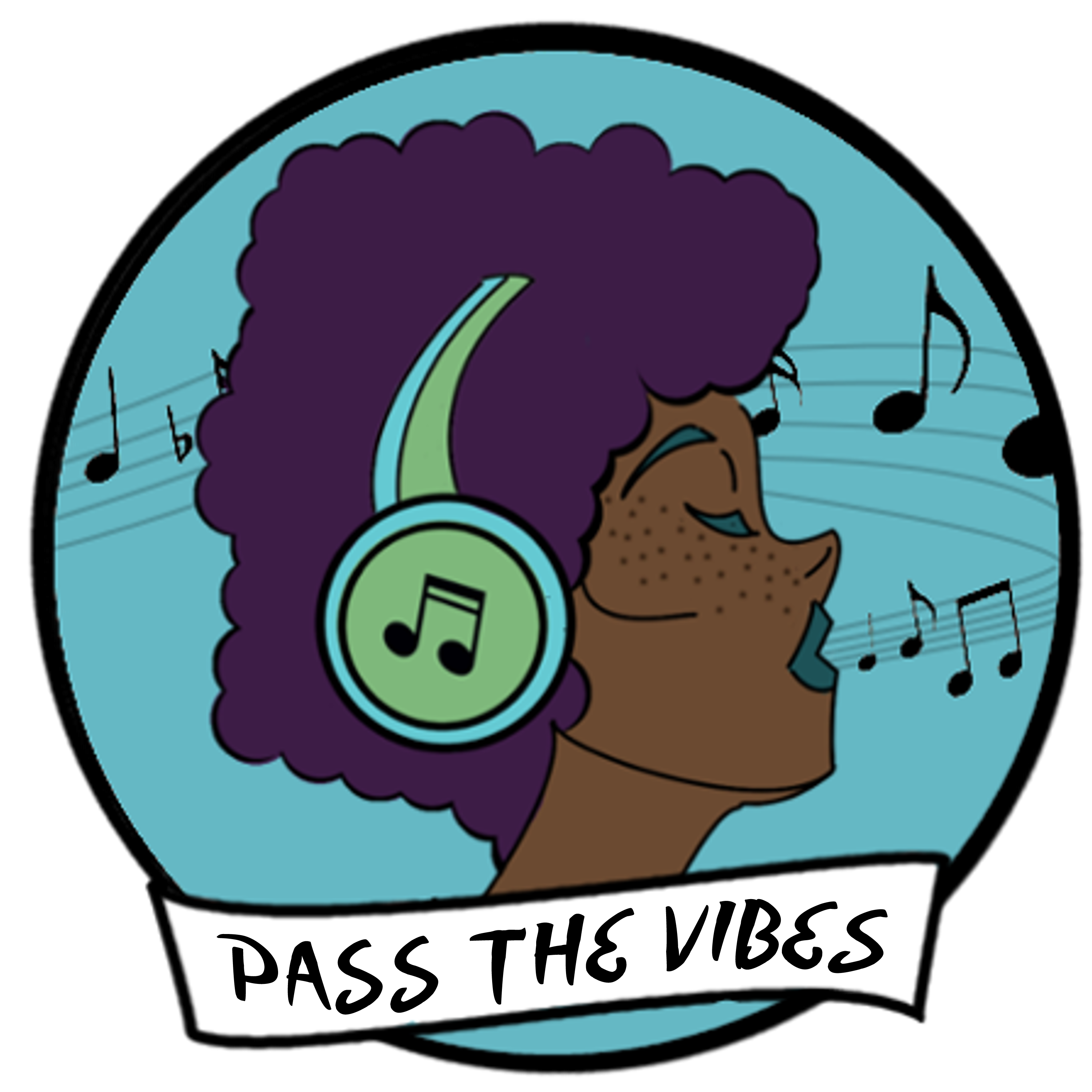 Pass the Vibes logo