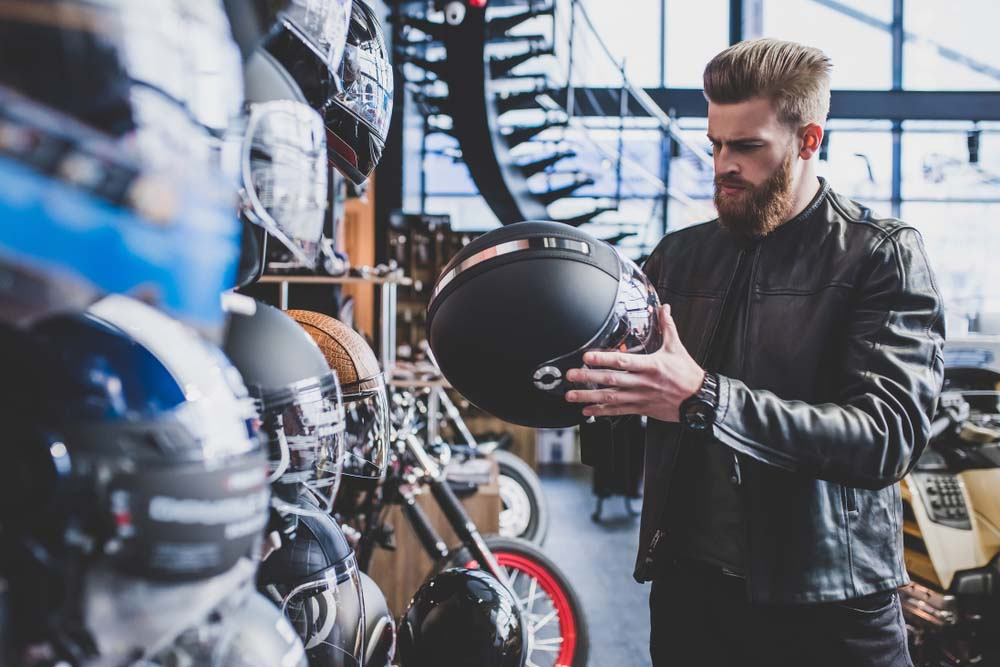 Motorbike Loans can be used for accessory purchases