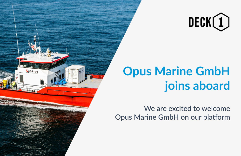 Crew Transfer Vessel on open waters