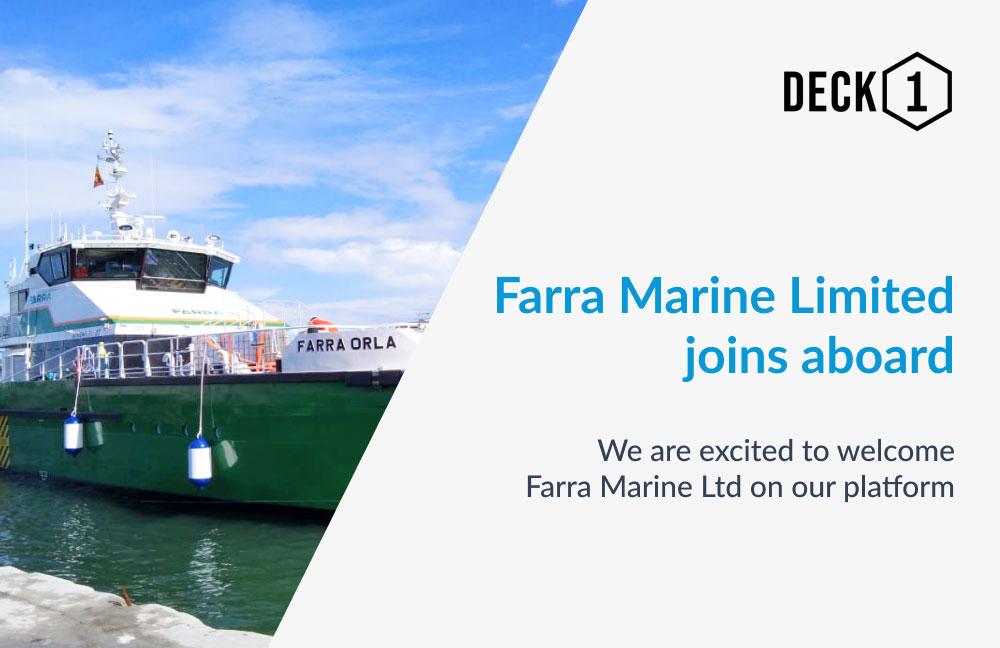 Crew Transfer Vessel at harbour
