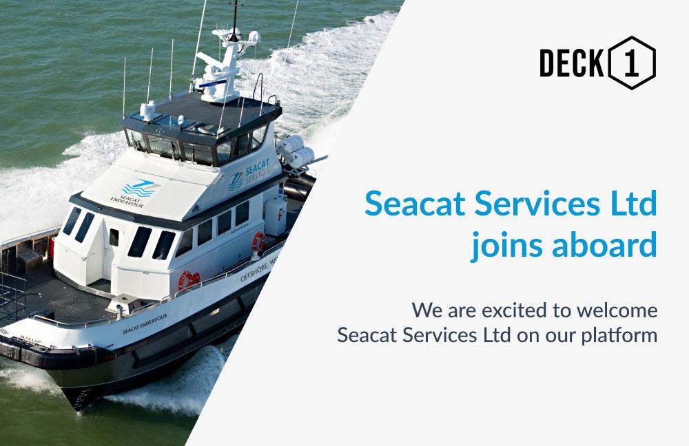 Crew transfer vessel sailing