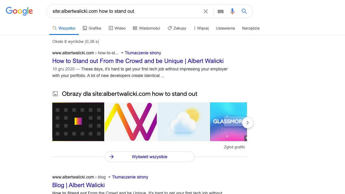 Search with site search