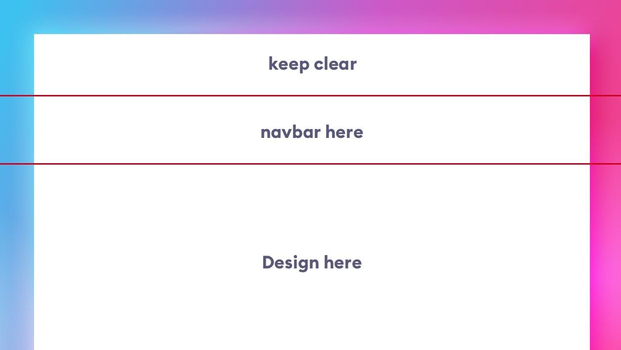 next step is setting boundaries in ui design