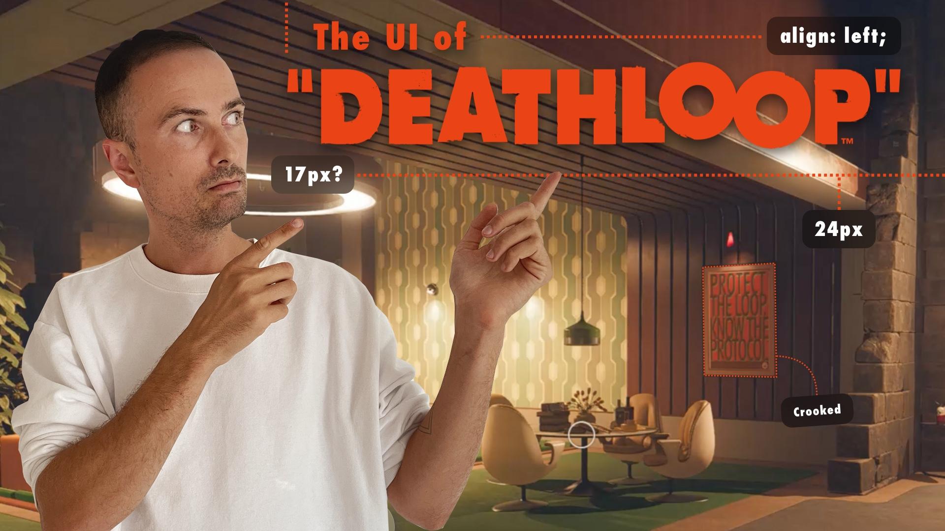 Deathloop-UI in videogames