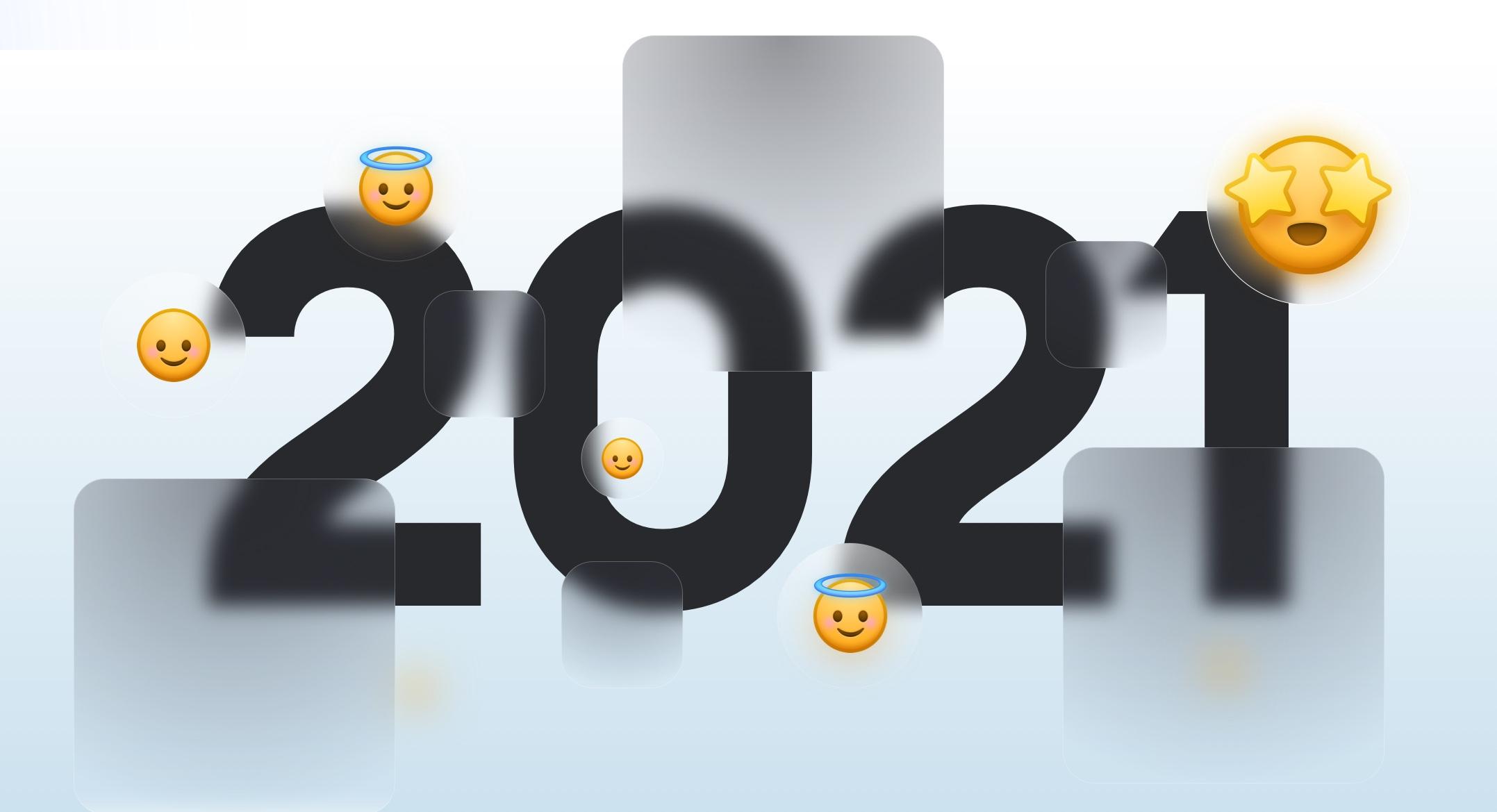 Glassmorphism in 2021