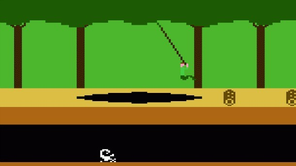 Pitfall Game for the Atari