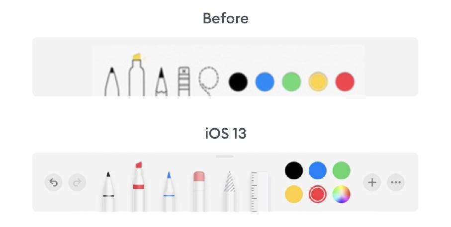 Skeuomorphism in iOS 13