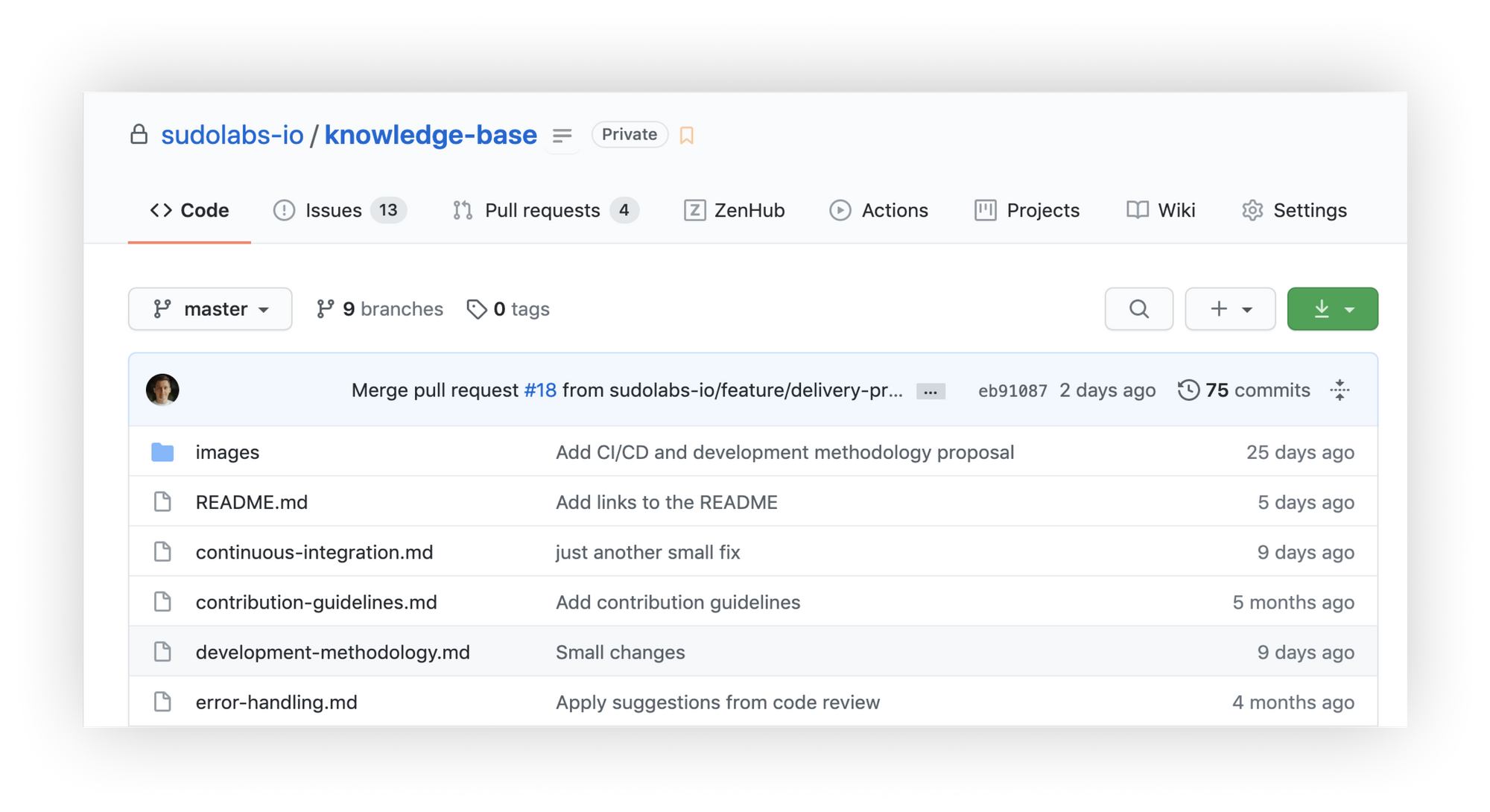 knowledge base repository