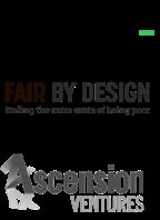 TechStars, Fair By Design, Ascension Ventures logo