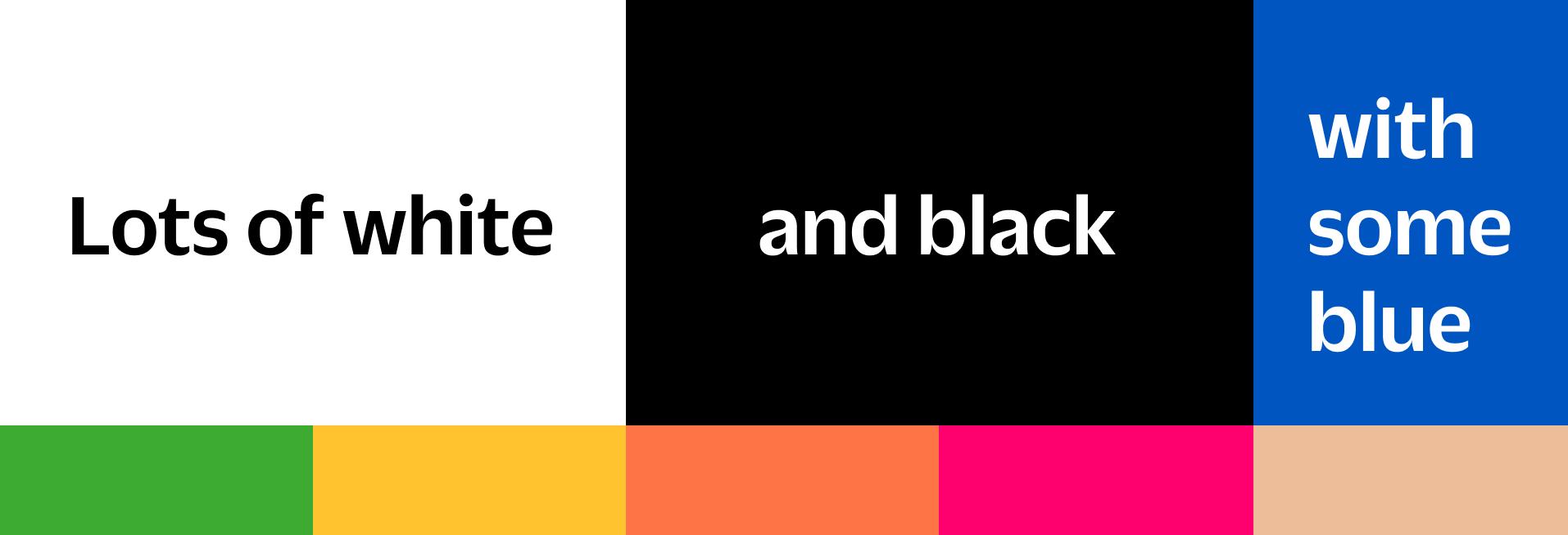 Brand new Mono colours