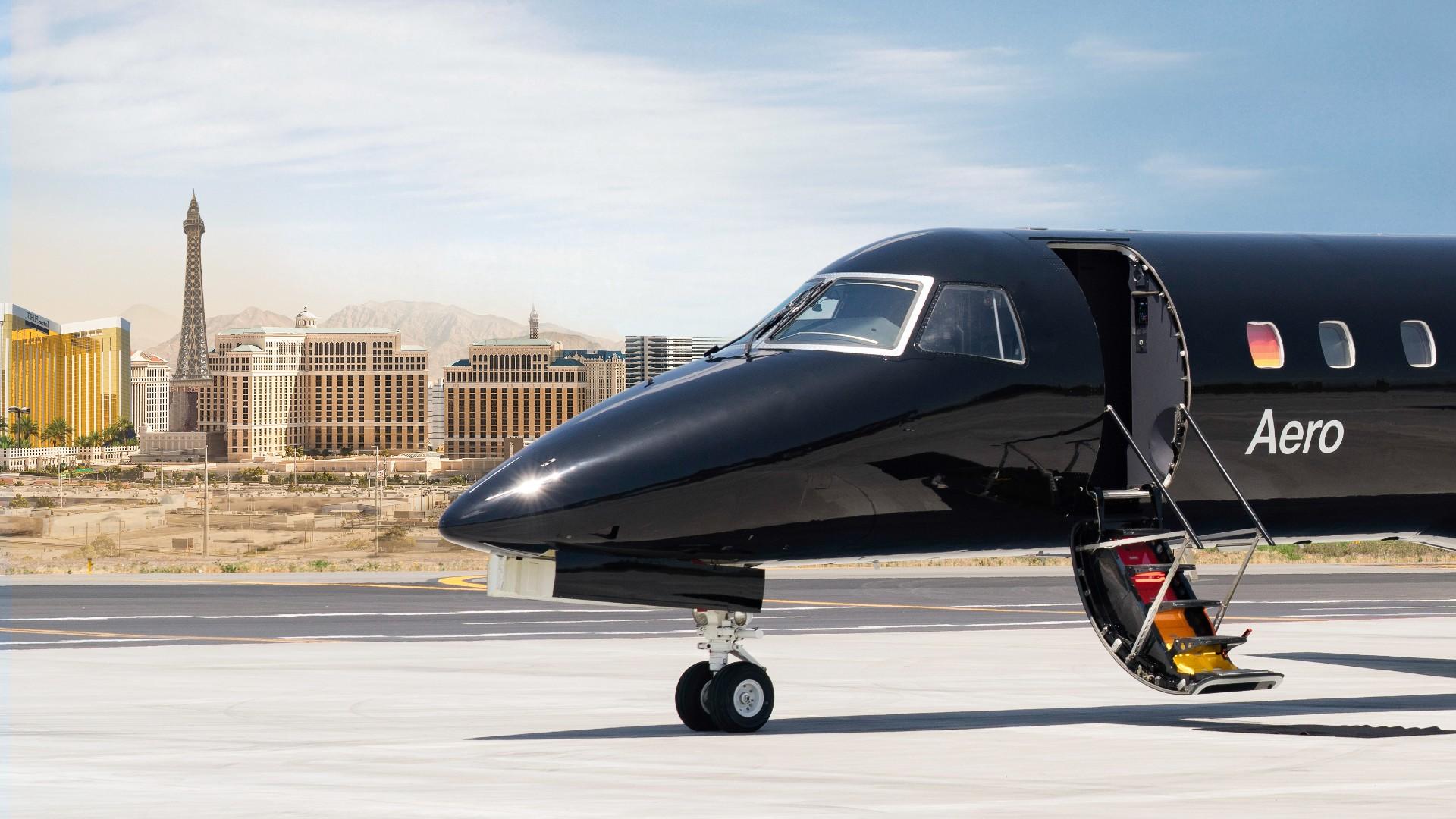 Las Vegas with Aero
