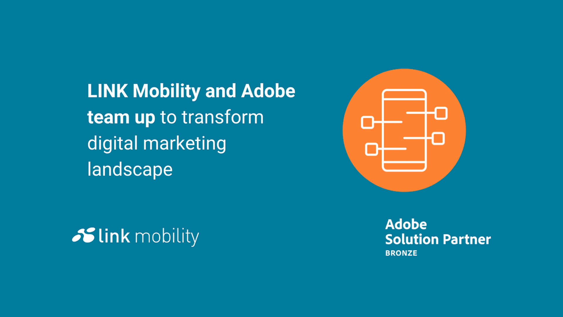LINK Mobility - LINK Mobility und Adobe arbeiten seit mehr als 15 Jahren im Bereich Global Messaging zusammen, insbesondere durch die Bereitstellung eines Messaging-Konnektors (ehemals Netsize), der in Adobe Campaign integriert ist.
