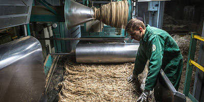 LEITNER Leinen - From flax to linen - Processing
