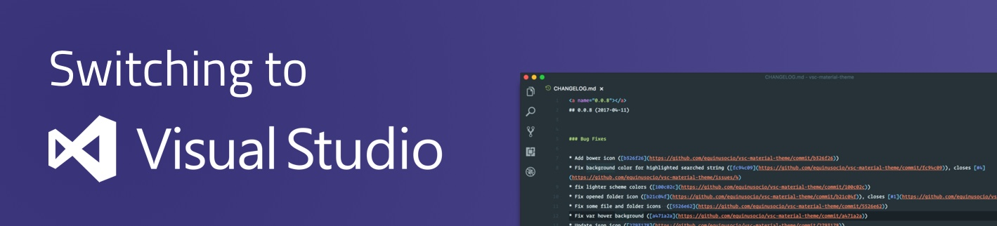 Switching to Visual Studio Code - Storyblok