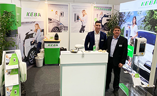 Our electric mobility experts are looking forward to your visit at the KEBA stand 10F71.