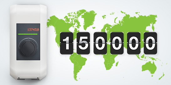 With 150,000 units sold, the KEBA KeContact is among the three most popular charging stations in the world